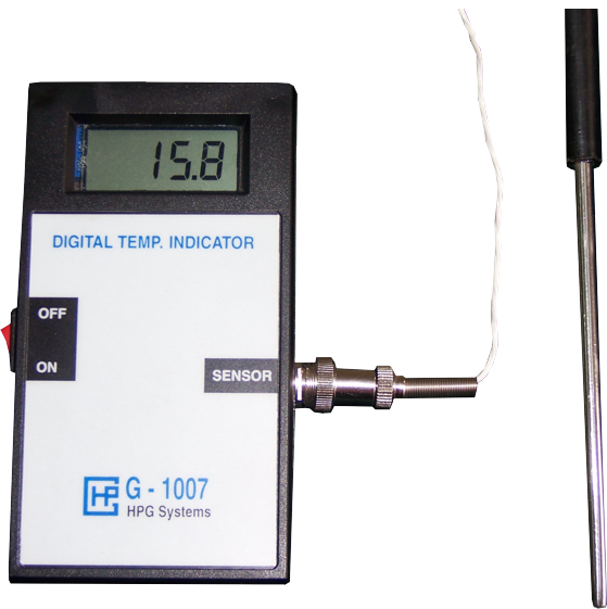 Digital Temperature Indicator Portable
